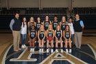 Pulaski Academy Bruins Girls Varsity Basketball Winter 17-18 team photo.
