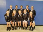 New Life Christian Eagles Girls Varsity Basketball Winter 17-18 team photo.