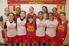 Pacific Grove Breakers Girls Varsity Basketball Winter 17-18 team photo.