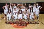 Taos Tigers Girls Varsity Basketball Winter 17-18 team photo.