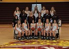 Cooper Jaguars Girls Varsity Basketball Winter 17-18 team photo.