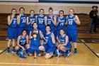 Defiance Bulldogs Girls Varsity Basketball Winter 17-18 team photo.