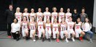 Seattle Academy Cardinals Girls Varsity Basketball Winter 17-18 team photo.