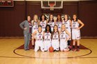 Foreman Gators Girls Varsity Basketball Winter 17-18 team photo.