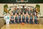 Bryce Valley Mustangs Girls Varsity Basketball Winter 17-18 team photo.