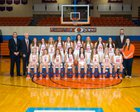 Marshall County Marshals Girls Varsity Basketball Winter 17-18 team photo.