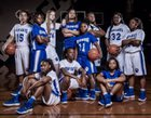 Wildwood Wildcats Girls Varsity Basketball Winter 17-18 team photo.