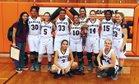 Ranger Bulldogs Girls Varsity Basketball Winter 17-18 team photo.