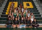 Los Alamos Hilltoppers Girls Varsity Basketball Winter 17-18 team photo.