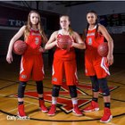 Middleburg Broncos Girls Varsity Basketball Winter 17-18 team photo.