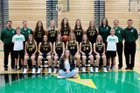 Northridge  Girls Varsity Basketball Winter 17-18 team photo.