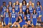 Hazen Highlanders Girls Varsity Basketball Winter 17-18 team photo.