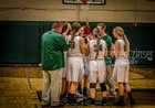Clare Pioneers Girls Varsity Basketball Winter 17-18 team photo.