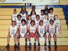 Goldsboro Cougars Girls Varsity Basketball Winter 17-18 team photo.