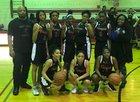 Fenger Titans Girls Varsity Basketball Winter 17-18 team photo.