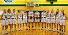 Lynden Lions Girls Varsity Basketball Winter 17-18 team photo.