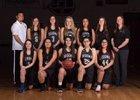 Red Rock Scorpions Girls Varsity Basketball Winter 17-18 team photo.