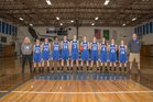Elma Eagles Girls Varsity Basketball Winter 17-18 team photo.