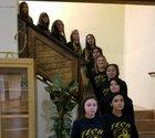 Tierra Encantada  Girls Varsity Basketball Winter 17-18 team photo.