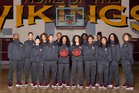 Edison Vikings Girls Varsity Basketball Winter 17-18 team photo.