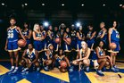 North Little Rock Charging Wildcats Girls Varsity Basketball Winter 17-18 team photo.