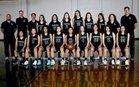 Orangewood Academy Spartans Girls Varsity Basketball Winter 17-18 team photo.