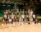 Buford Wolves Girls Varsity Basketball Winter 17-18 team photo.