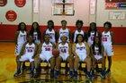 Baldwyn Bearcats Girls Varsity Basketball Winter 17-18 team photo.