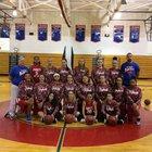 Jeannette Jayhawks Girls Varsity Basketball Winter 17-18 team photo.
