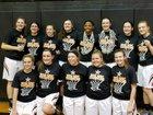 North Rangers Girls Varsity Basketball Winter 17-18 team photo.