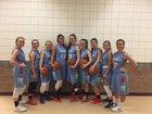 Marsh Valley Eagles Girls Varsity Basketball Winter 17-18 team photo.