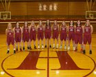 Hoquiam Grizzlies Girls Varsity Basketball Winter 17-18 team photo.
