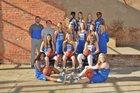 Bald Knob Bulldogs Girls Varsity Basketball Winter 17-18 team photo.