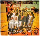 Hutto Hippos Girls Varsity Basketball Winter 17-18 team photo.