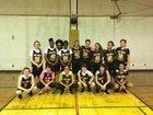 Alamogordo Tigers Girls Varsity Basketball Winter 17-18 team photo.