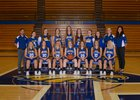 Brown County Eagles Girls Varsity Basketball Winter 17-18 team photo.