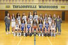 Taylorsville Warriors Girls Varsity Basketball Winter 17-18 team photo.