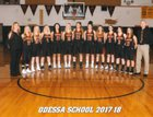 Odessa Tigers Girls Varsity Basketball Winter 17-18 team photo.