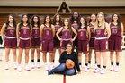 Andress Eagles Girls Varsity Basketball Winter 17-18 team photo.
