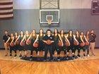Fouke Panthers Girls Varsity Basketball Winter 17-18 team photo.