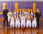 Wenatchee Panthers Girls Varsity Basketball Winter 17-18 team photo.