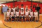 Potts Camp Cardinals Girls Varsity Basketball Winter 17-18 team photo.