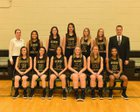 Gilbert Christian Knights Girls Varsity Basketball Winter 17-18 team photo.