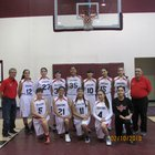 Monte Del Sol Charter Dragons Girls Varsity Basketball Winter 17-18 team photo.