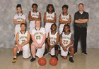 Clover Park Warriors Girls Varsity Basketball Winter 17-18 team photo.