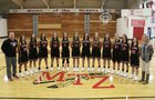 Mt. Zion Braves Girls Varsity Basketball Winter 17-18 team photo.
