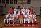 Polytech Panthers Girls Varsity Basketball Winter 17-18 team photo.