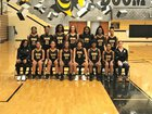 Irmo Yellowjackets Girls Varsity Basketball Winter 17-18 team photo.