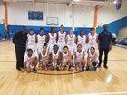 Hollywood Hills Spartans Girls Varsity Basketball Winter 17-18 team photo.