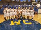 Wilson Creek Devils Girls Varsity Basketball Winter 17-18 team photo.